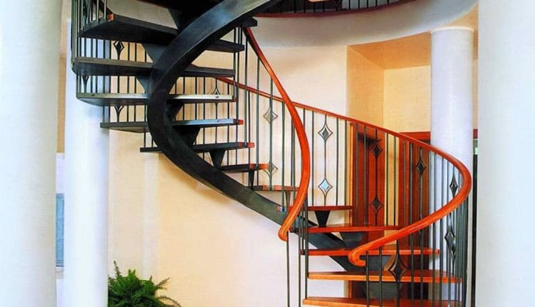 Перила для винтовых лестниц