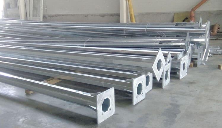 Изготовление металлических опор