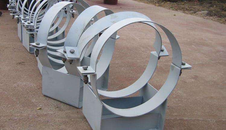 Изготовление опор трубопроводов