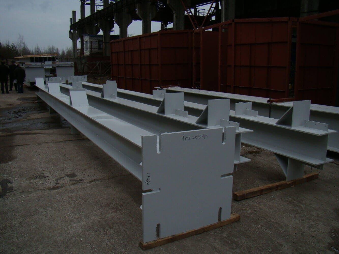 Металлические колонны