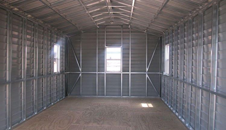 Производство гаражей из металлоконструкций
