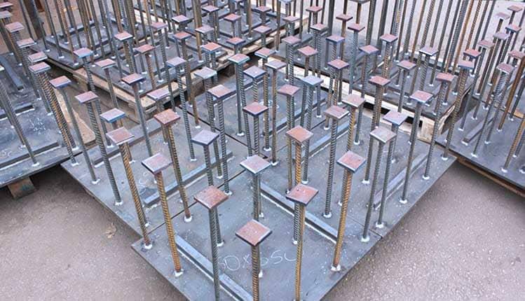 Изготовление анкерных блоков