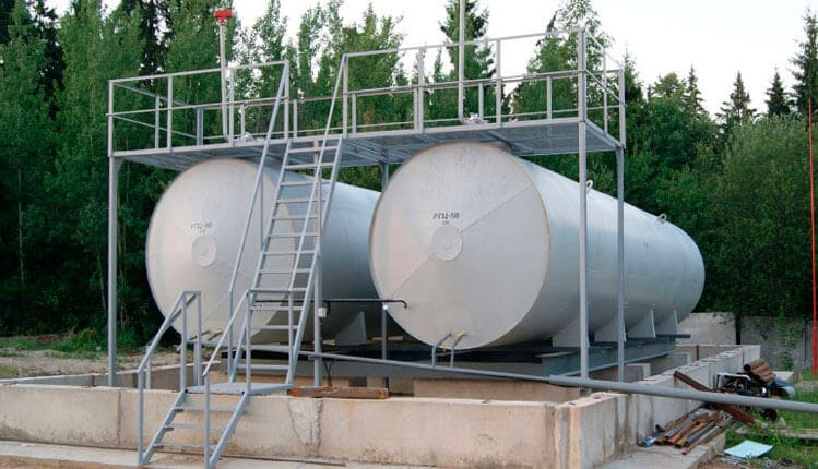 Аварийные емкости и резервуары
