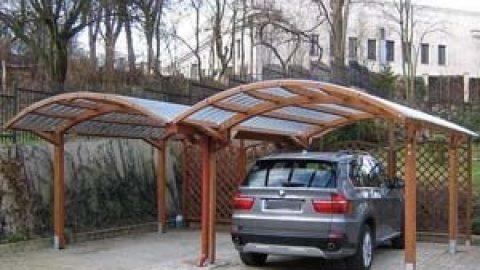 Автомобильные навесы — альтернатива гаражам