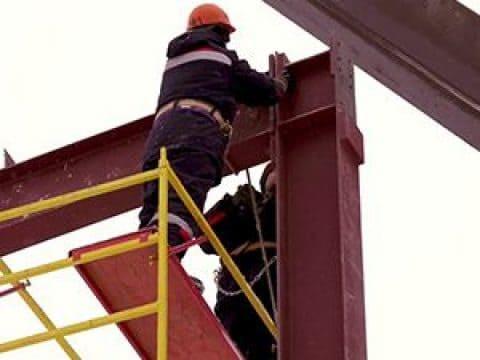 Монтажа стальных конструкций — особенности