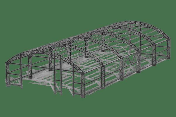 Проект здания 7x15 м | от 367 500 руб.