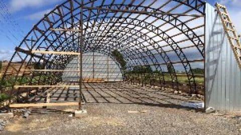 Ангары из металла: виды и нюансы строительства